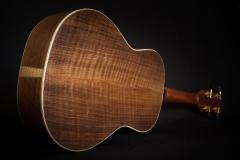 Lopez-Tenor-Ukulele-back-flamed-walnut